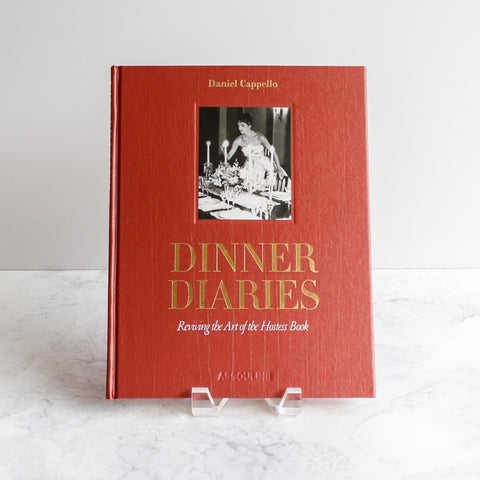 Dinner Diaries book (photography courtesy of Daryl Nicole Scott)