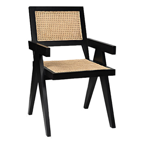 Harlan Chair in black