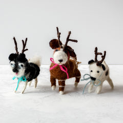 Holiday Hound Ornaments