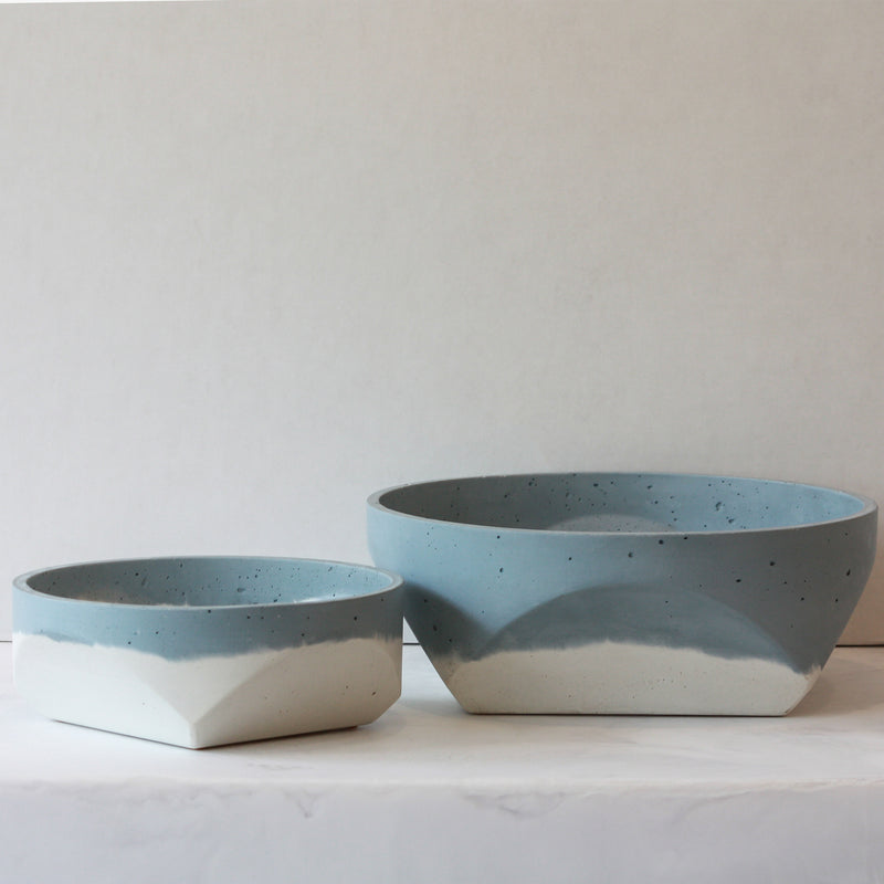 Cori x Anyon Bowls - sky in small and large