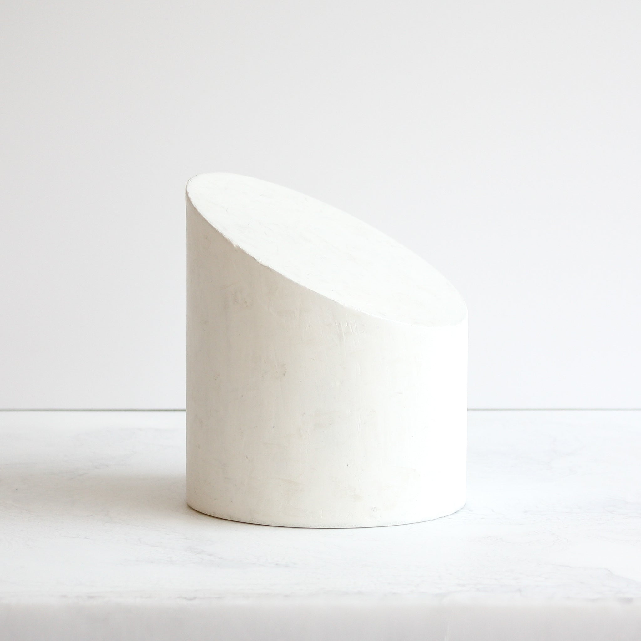 Amy Meier x Stone Yard geometric sculpture Forme Number Three