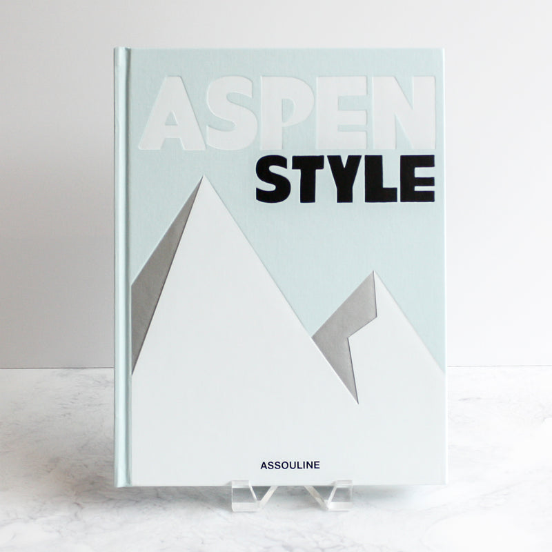 Aspen Style coffee table book