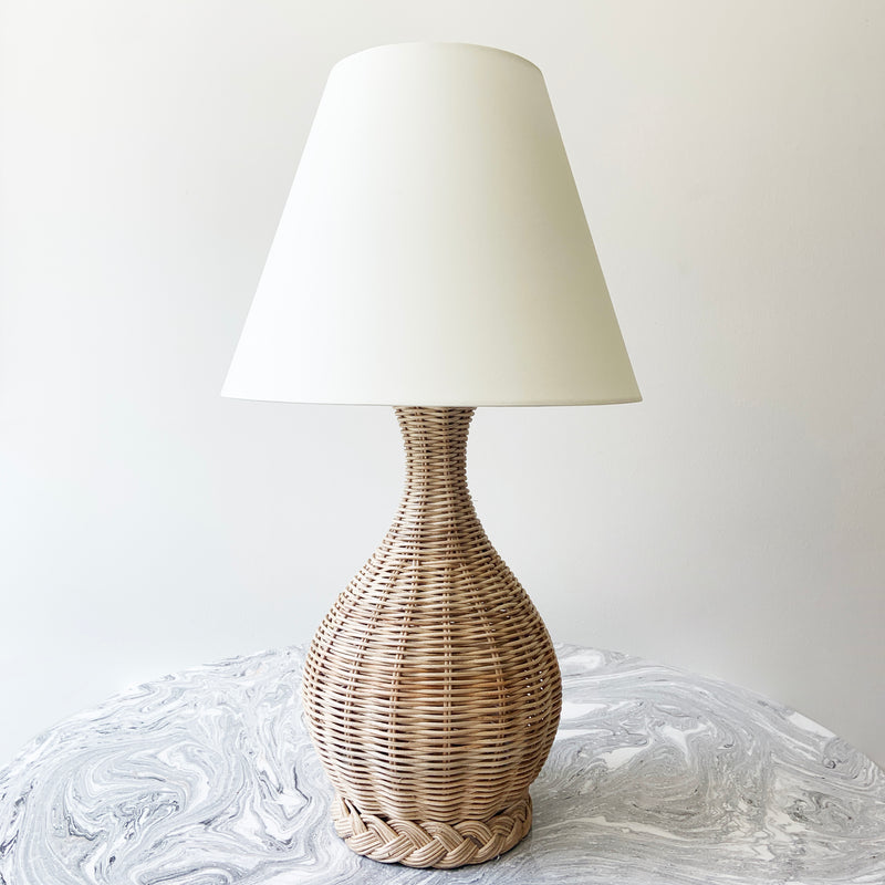 Whitehaven Rattan Table Lamp