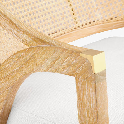 Edward lounge chair in natural wood