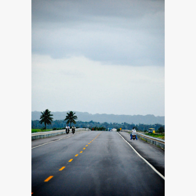 Photograph by César Ancelle-Hansen titled Autoroute, Dominican Republic