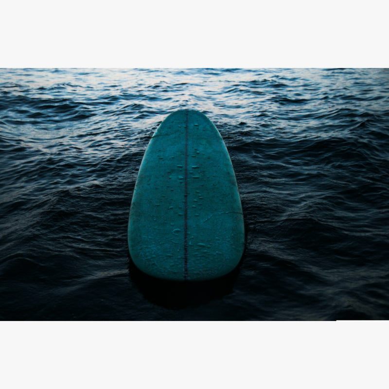 Green Surfboard by César Ancelle-Hansen