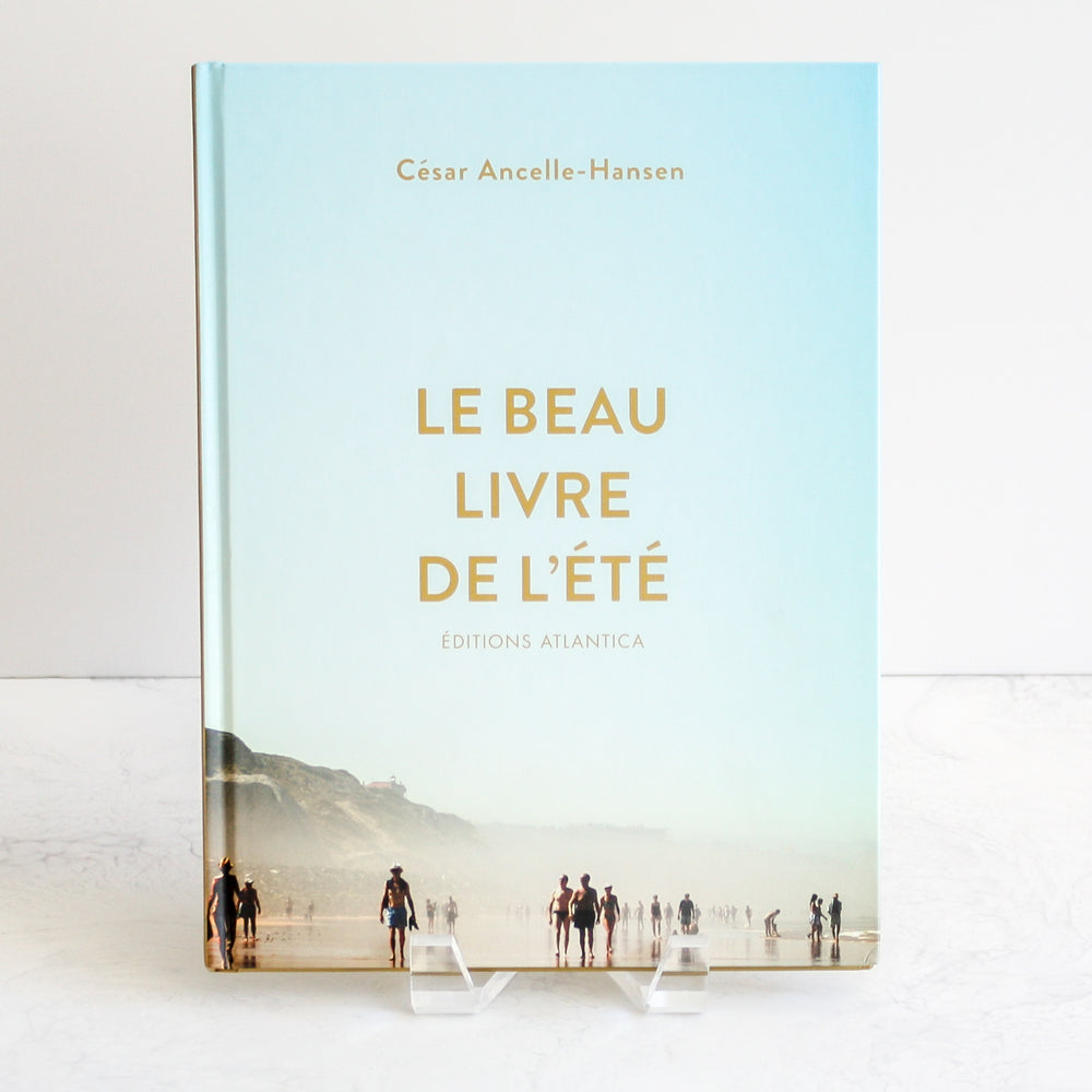 Surf photography book by César Ancelle-Hansen called Le Beau Livre de L'Été