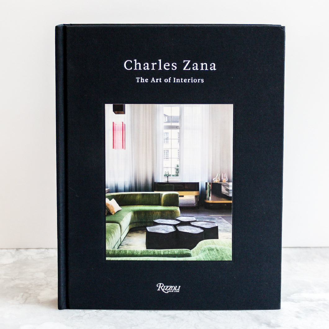 Charles Zana The Art of Interiors paris interior architect in a linen hardcover by Random House/Penguin books