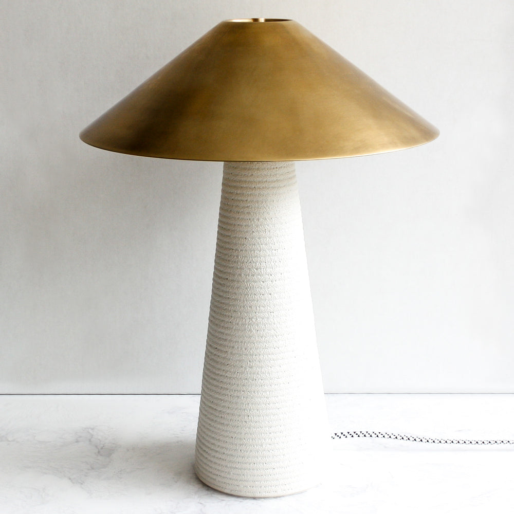 Montecito Lamp brass and porcelain