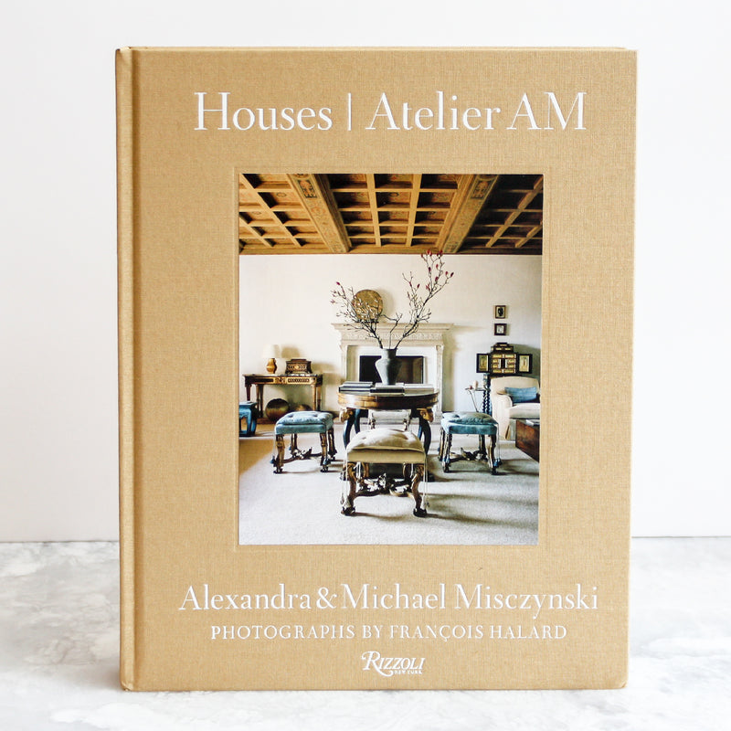 Houses - Atelier AM linen hardcover tan or beige publisher Random House Penguin