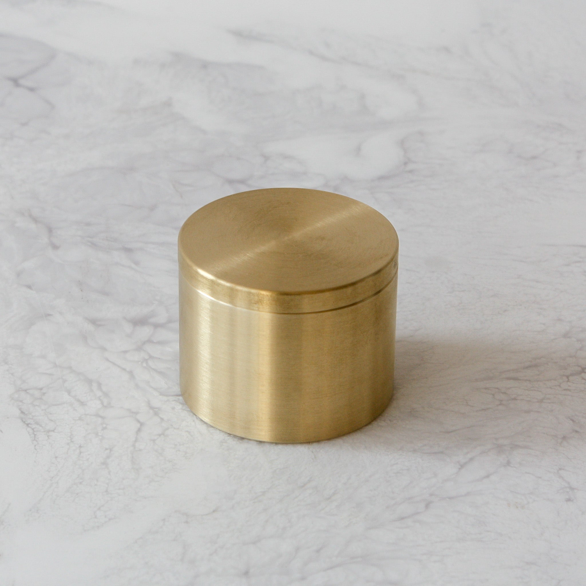 Solid Brass Candle Box