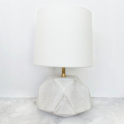 Small Geode Table Lamp