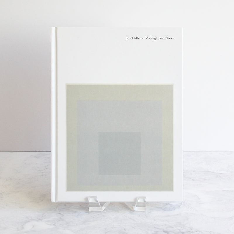 Josef Albers Midnight and Noon book