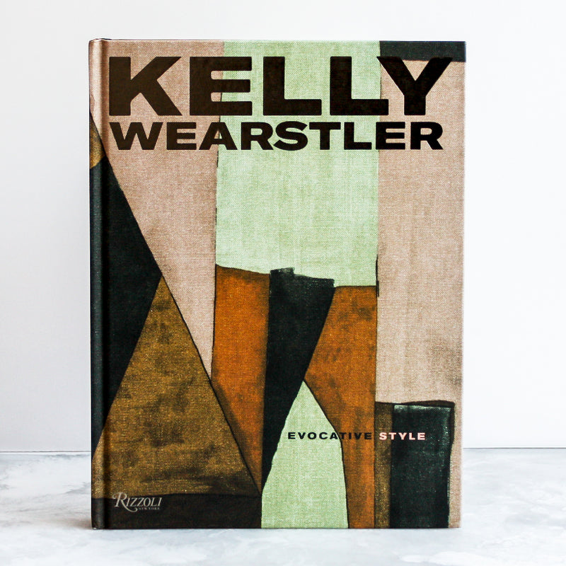 Kelly Wearstler Book by Kelly Wearstler and Rima Suqi in a linen hardcover
