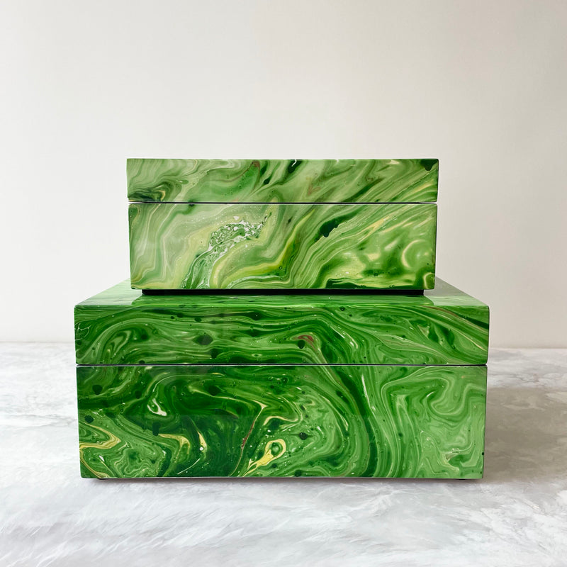 Green Noelle Boxes