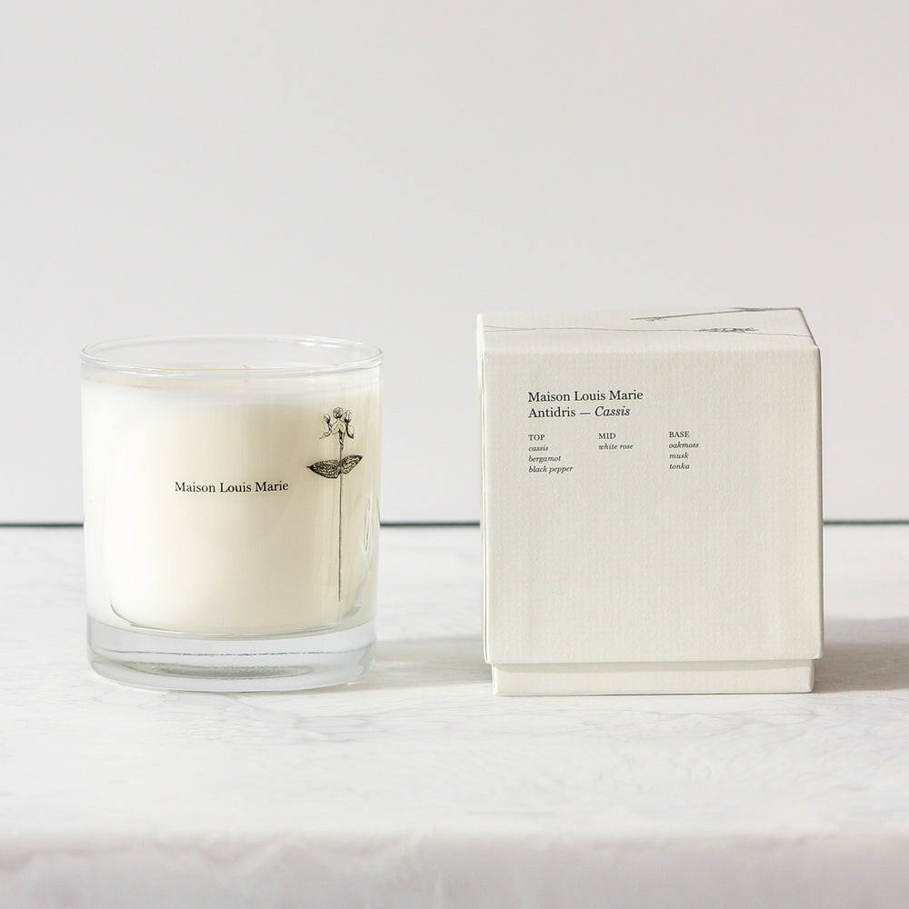 Antidris Cassis Candle with box