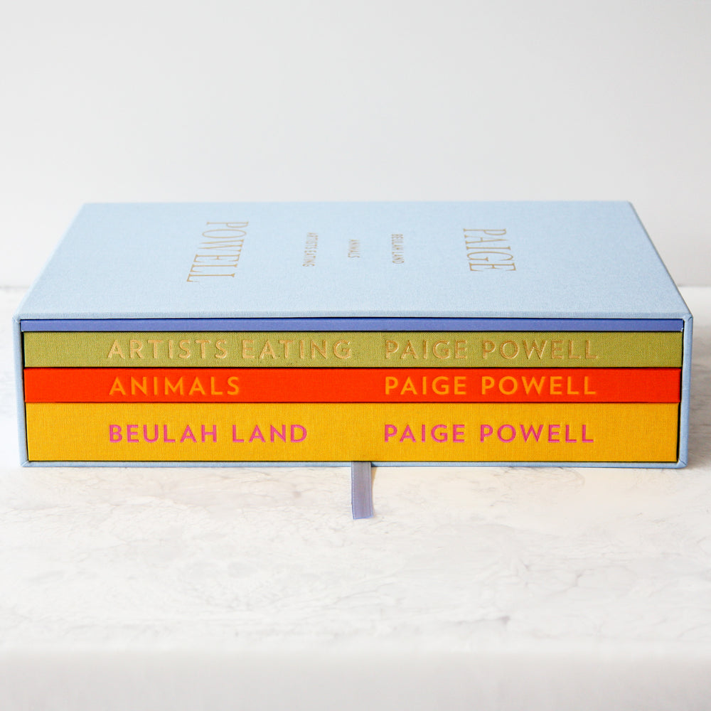 Collectable coffee table books by Paige Powell