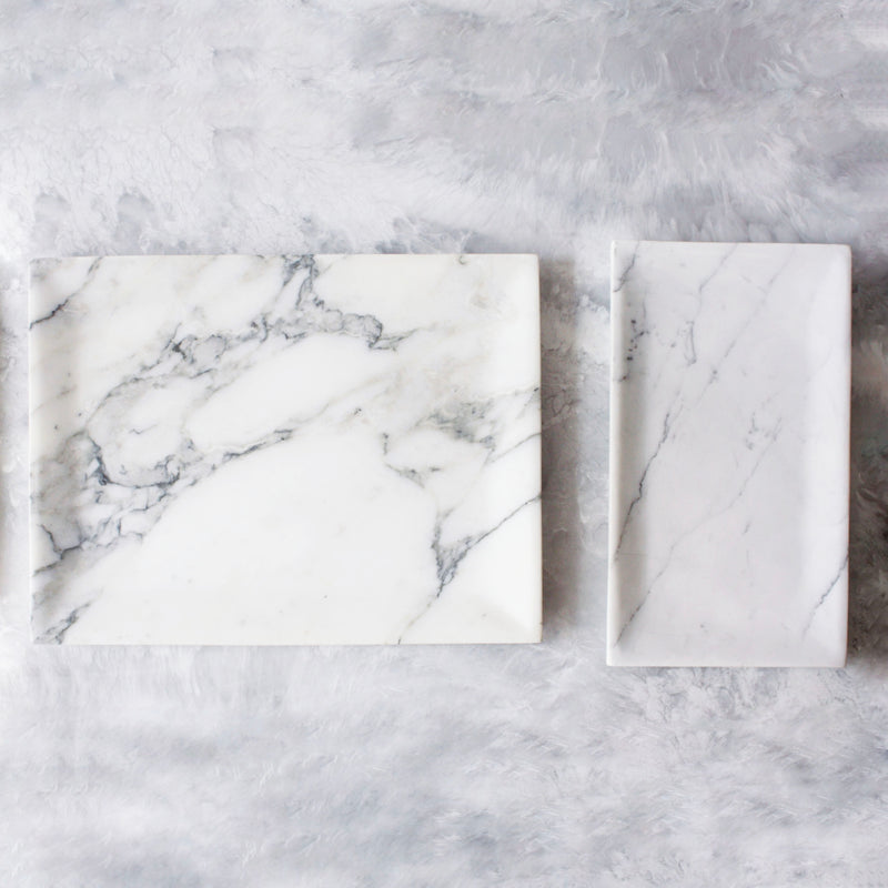 Marble Rectangular Trays