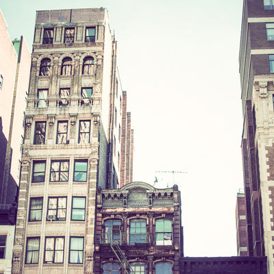 New York City buildings photographed by Sara Ferguson