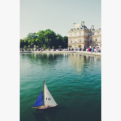 Le Jardin du Luxembourg in France photographed by Sara Ferguson