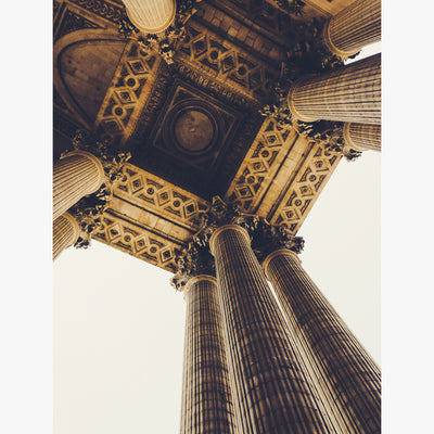 Under the Pantheon in Paris, France photograph by Sara Ferguson
