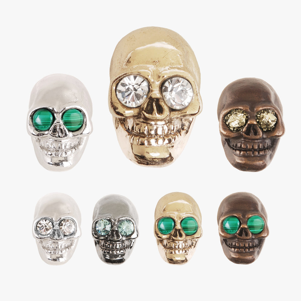Skull knobs by Matthew Studios