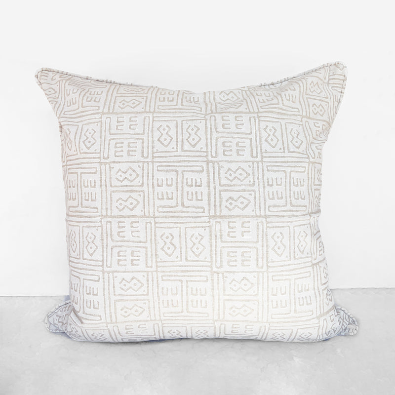 Kuba Chalk Pillow