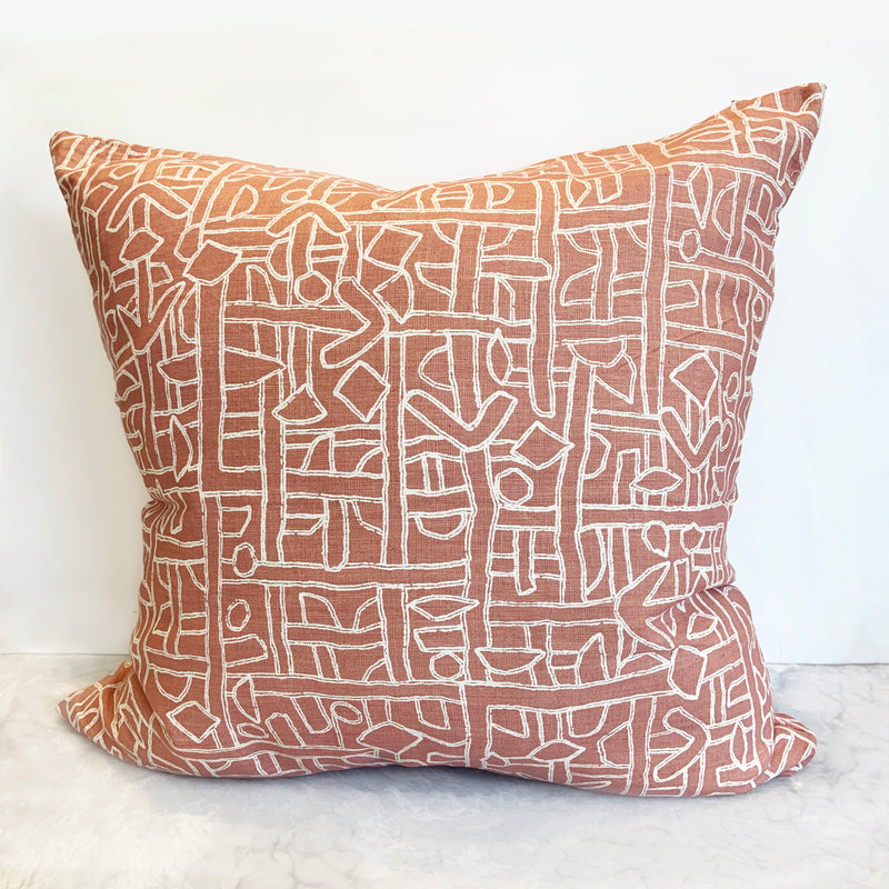Zaire Shell Pillow