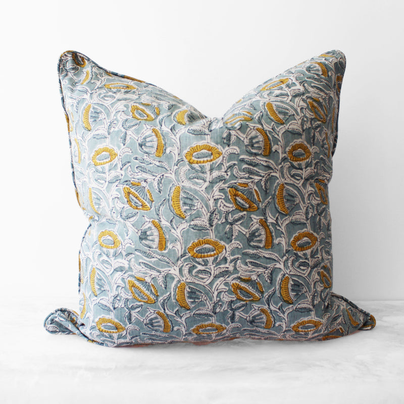 Marbella Celadon Pillow