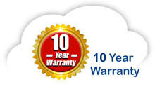 10 year warranty on contemporary bed