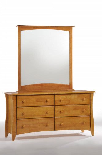Dresser-6-Drawers-and-Mirror-Medium-Oak