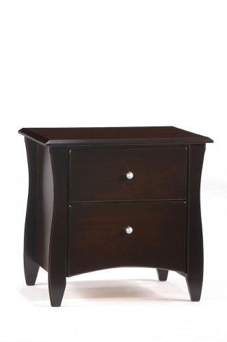Solid-Wood-Nightstand-Side-Tables-Chocolate