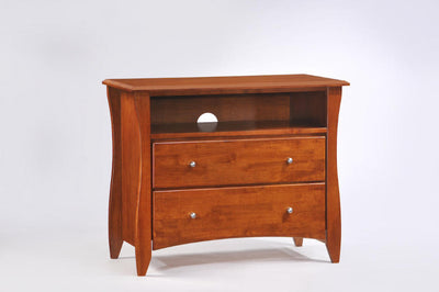 Solid-Wood-TV-Stand-Cherry
