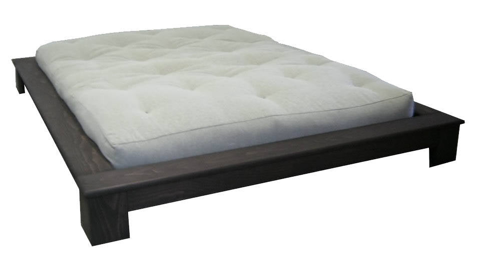 Bangkok Low Profile Wood No Head Bed Frame