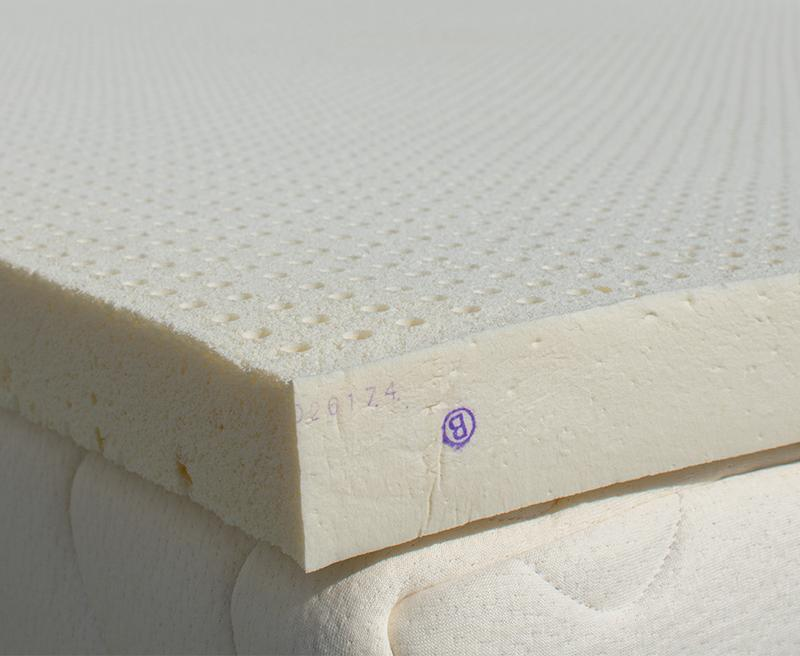 Latex Mattress Topper.Organic Dunlop Latex Topper With Organic Cotton Sleve