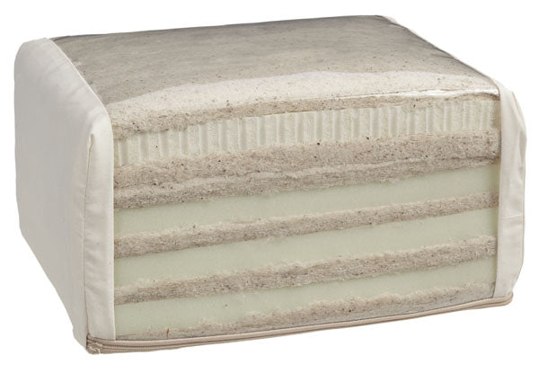 Wool-and-Latex-Futon-Mattress