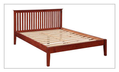Pine-wood-bed-frame