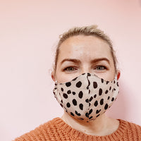 2 Layer Face Mask with Filter Pocket - Adults