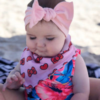 Bow Love Dribble Bib