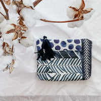 Patchwork Nappy Clutches