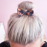 Leopard Bow Clips (Pigtail set)