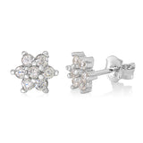Kids Silver April Birthstone Earring Italy B078RBKTFN UJEP 5103 SRH AP