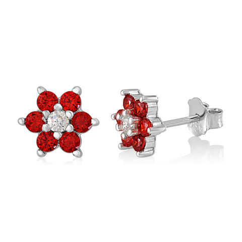 Kids Silver January Birthstone Earring Italy B078RD2X6P UJEP 5103 SRH JA