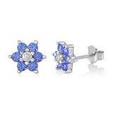 Childrens Silver September Birthstone Earring Italy B078RCL5RQ UJEP 5103 SRH SP