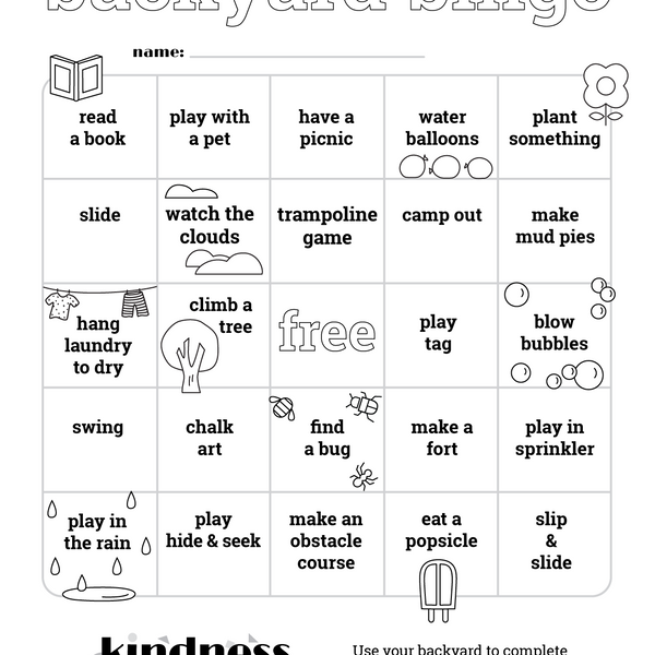 Backyard Bingo