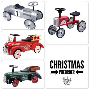 Christmas PreOrder- Retro Vehicles
