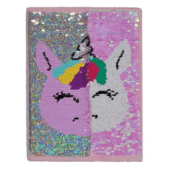Unicorn Reversible Sequin Journal