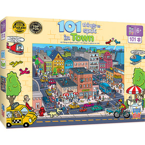 101 Things to Spot In Town