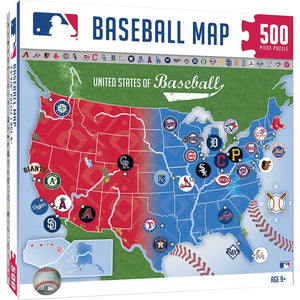 MLB Sports Map (500pc)
