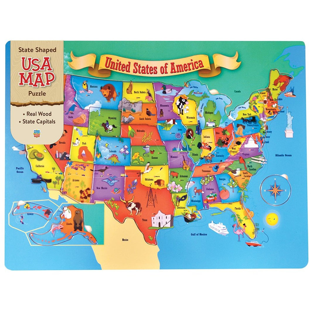 USA Map 44 PC puzzle